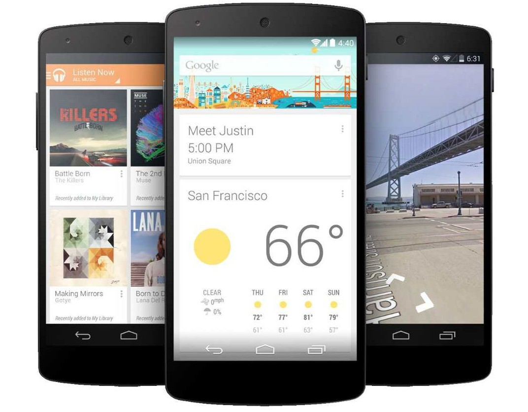 migliori smartphone android nexus 5