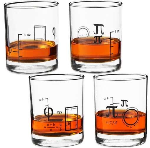 bicchieri per matematici