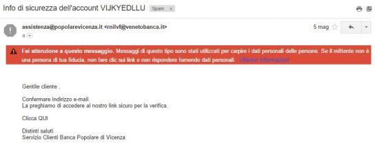 truffe via mail
