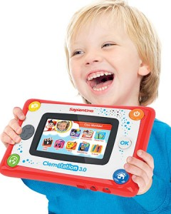 Clemstation tablet per bambini