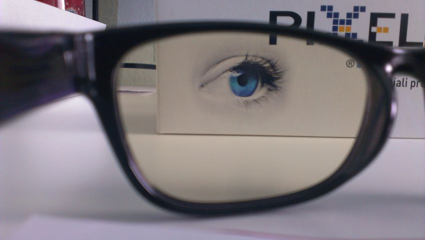 occhiali protettivi pixel lens
